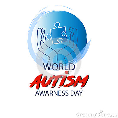 World autism awareness day Stock Photo