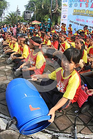 World autism day in indonesia Editorial Image
