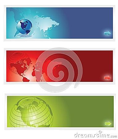 World banner