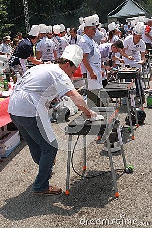 World Barbeque Championship 2009 Editorial Stock Photo