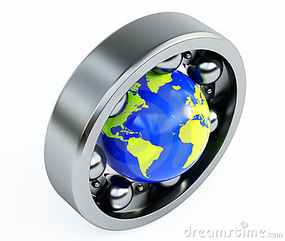 World in bearing