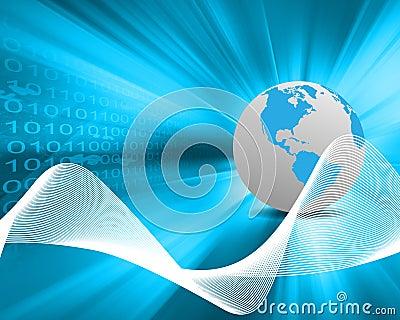 World and binary code