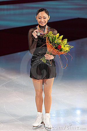 World championship on figure skating 2011 Editorial Stock Image