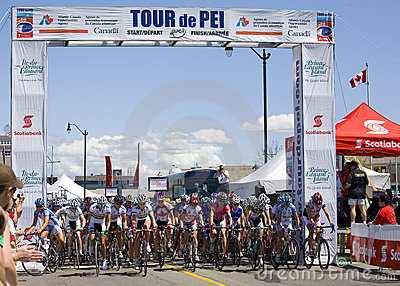 World Class Women s Cycling Race - Tour de PEI Editorial Photography