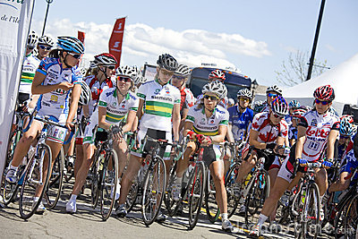 World Class Women s Cycling Race - Tour de PEI Editorial Stock Photo