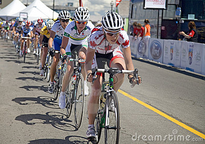 World Class Women s Cycling Race - Tour de PEI Editorial Stock Image