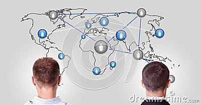 World in communication
