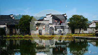 The world cultural heritage hong cun Editorial Photography