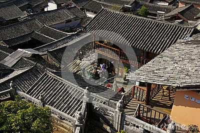 World Cultural Heritage Lijiang houses