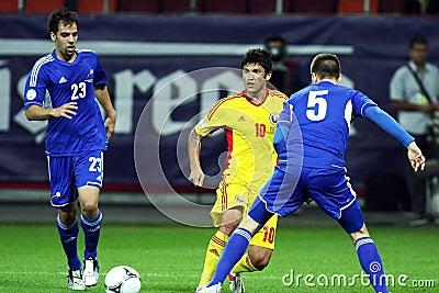 World Cup 2014 Preliminaries: Romania-Andorra Editorial Photography