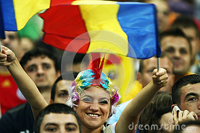 World Cup 2014 Preliminaries: Romania-Andorra Editorial Stock Image