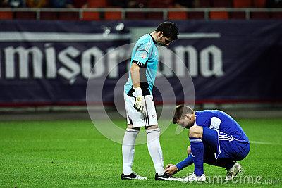 World Cup 2014 Preliminaries: Romania-Andorra Editorial Image