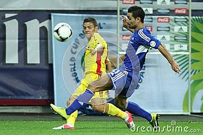 World Cup 2014 Preliminaries: Romania-Andorra Editorial Image