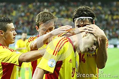 World Cup 2014 Preliminaries: Romania-Andorra Editorial Stock Image