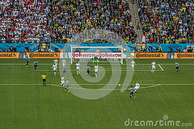 World Cup Brazil 2014 - Uruguay 2 X 1 England Editorial Image