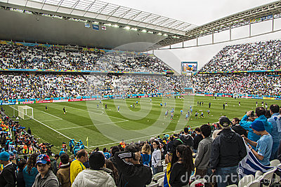 World Cup Brazil 2014 - Uruguay 2 X 1 England Editorial Image