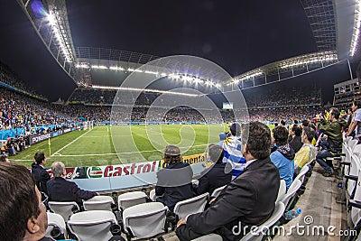World Cup Brazil 2014 - Uruguay 2 X 1 England Editorial Photo