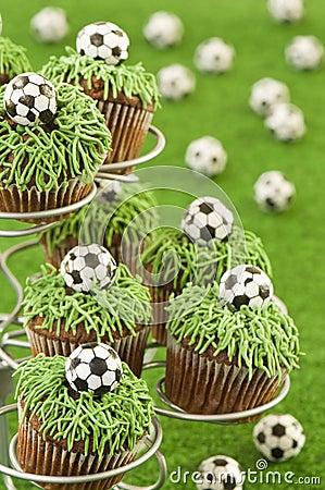 Free World Cup Cupcakes Stock Photos - 14609173