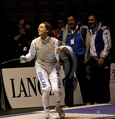 World Cup Foil Women Senior 2009, Fencing Editorial Photography
