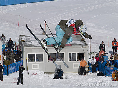 World cup freestyle ski Editorial Photo