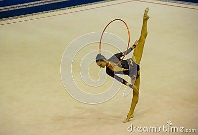 World Cup of Rhythmic Gymnastics 2012 Editorial Photo