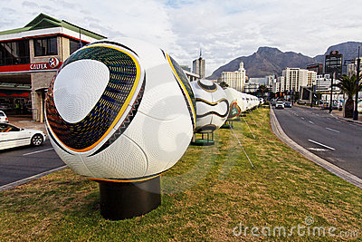 World Cup Soccer Balls Editorial Image