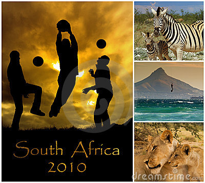 World Cup South Africa 2010 Editorial Stock Image