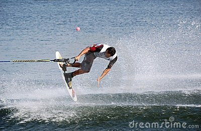 World Cup Waterski 2008 Editorial Photo