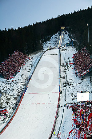 The World Cup Zakopane 2008 Editorial Photography