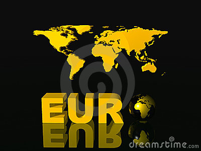World currency, Euro