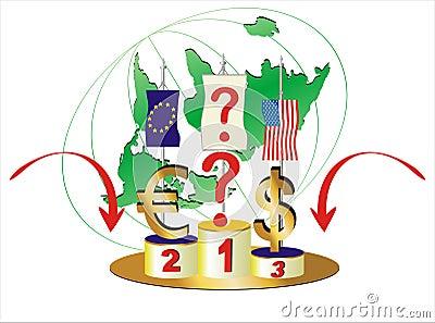 World Economic Turned Upside Down.