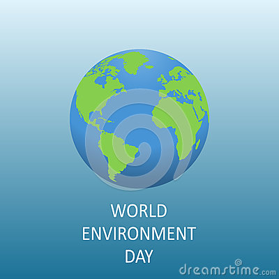 World environment day. Stock Photo