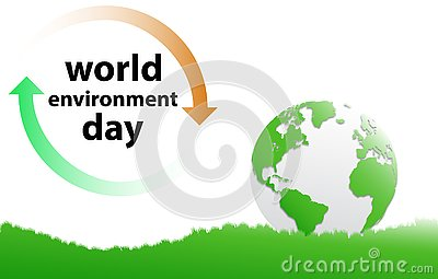 World environment day Vector Illustration