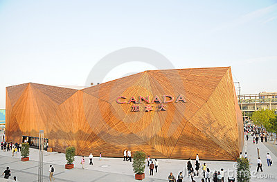 World Expositions 2010 Editorial Stock Photo