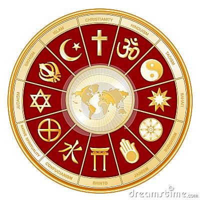 A World of Faith with Map