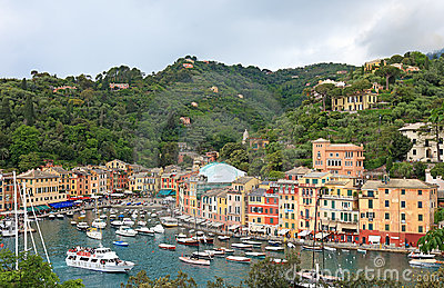 World famous Portofino, Italy.