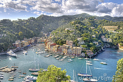 World famous Portofino village