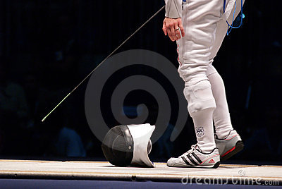World Fencing Championship 2006 - Vezzali Editorial Stock Image
