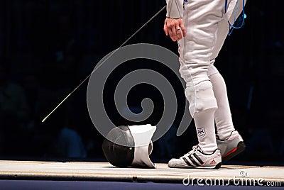 World Fencing Championship 2006 - Vezzali Editorial Stock Image