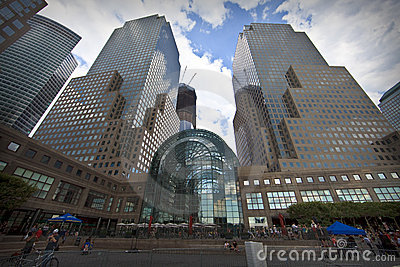 World Financial Center in New York City Editorial Photo