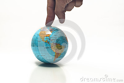 World in a finger