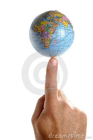 World on a finger tip