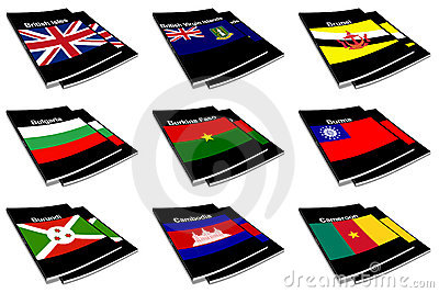 World flag book collection 05