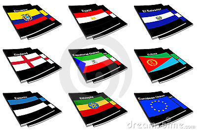 World flag book collection 09