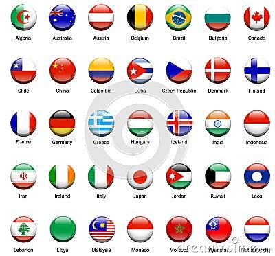 World Flag Icons 01