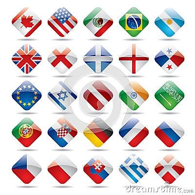 World flag icons 1