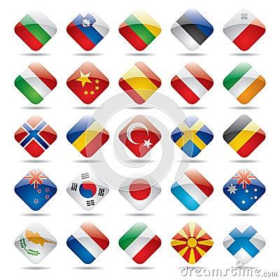 Free World Flag Icons 2 Stock Image - 4660441