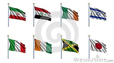 World Flag Set 11