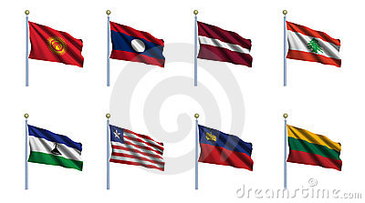World Flag Set 13