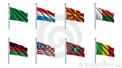 World Flag Set 14